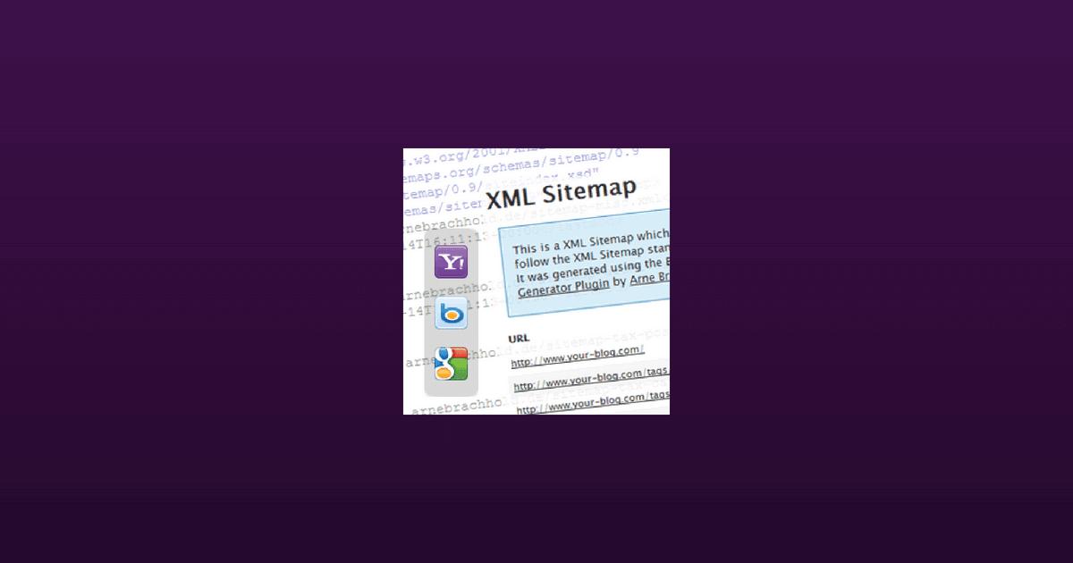 How to setup Google XML Sitemaps